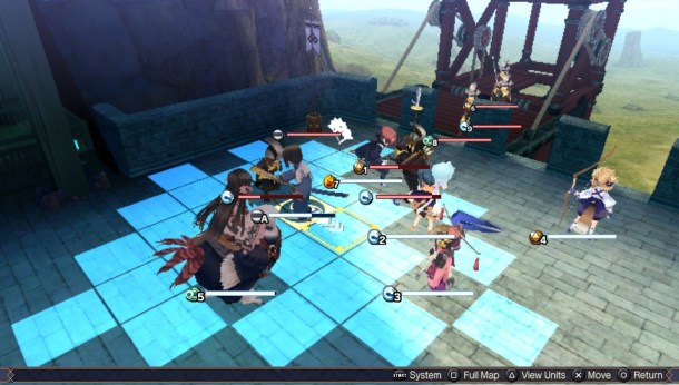 Utawarerumono: Mask of Truth I Battlefield