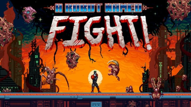 A Robot Named Fight | Logo