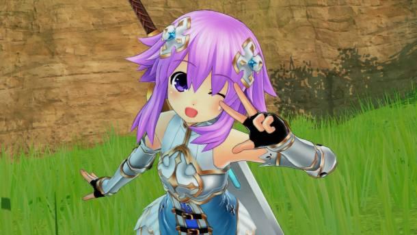 Cyberdimension Neptunia 4 Goddesses | Neptune