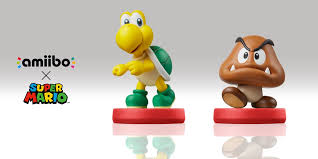 Goomba and Koopa amiibo