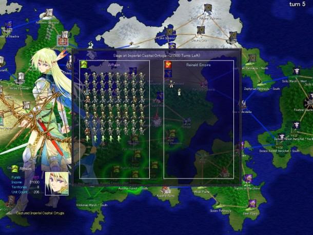Lost Technology | World map simulation