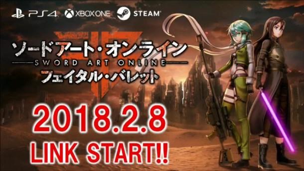 Sword Art Online: Fatal Bullet | Release Date JP