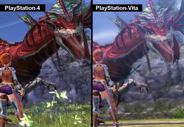 Ys VIII: Lacrimosa of Dana | Comparison between PS4 & PS-Vita