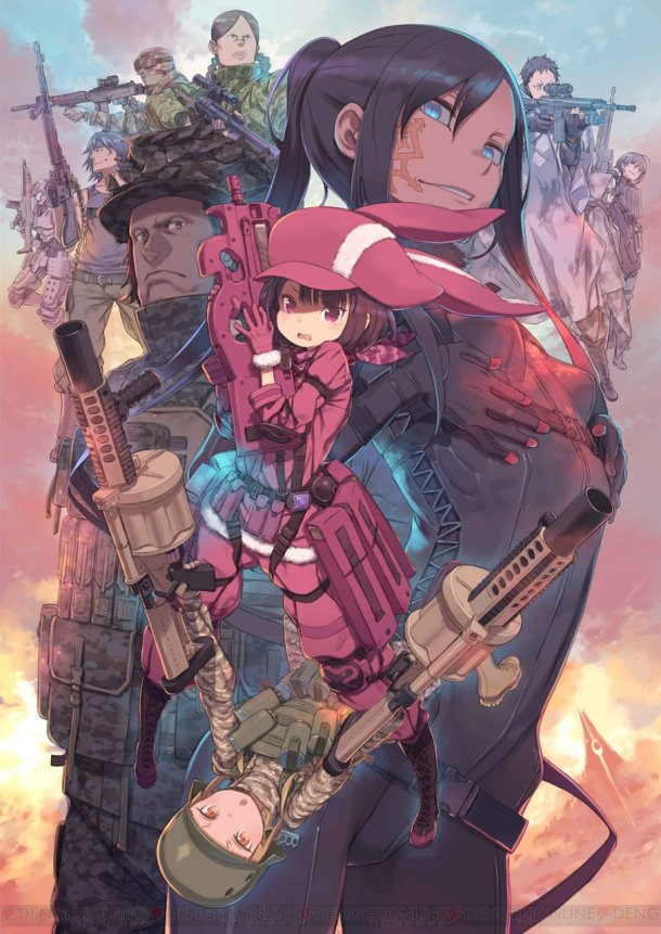 Sword Art Online Alternative: Gun Gale Online | Key Art