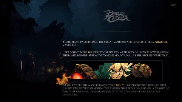Battle Chasers Nightwar | Intro