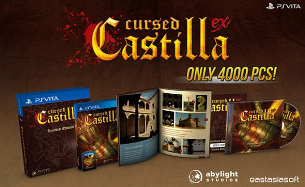 Cursed Castilla | Vita Limited Edition