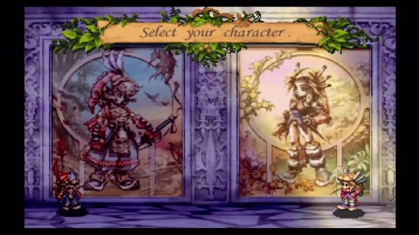 Legend of Mana | Character Select