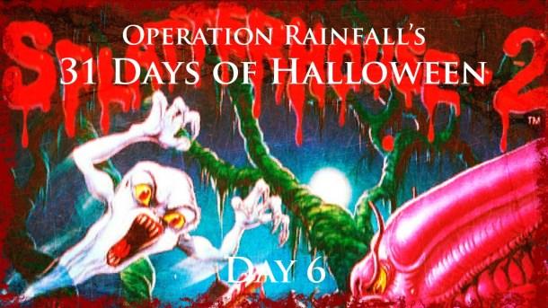 Oprainfall Halloween | Splatterhouse | Day 7