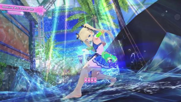 Peach Beach Splash | Soaking Wet Marie Rose