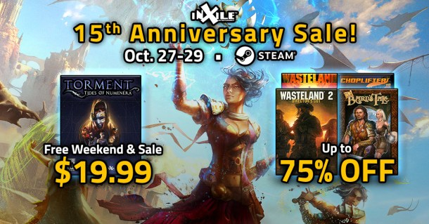 inXile | 15th Anniversary Sale