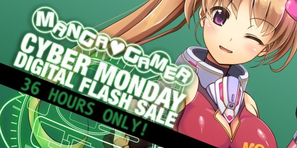 MangaGamer Cyber Monday | Header