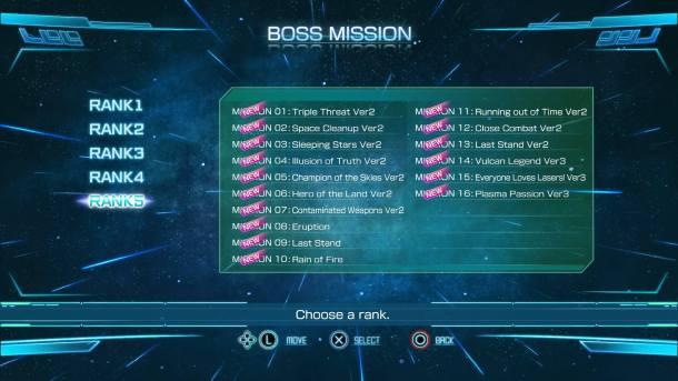 Raiden V Director's Cut | Boss Missions