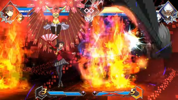 BlazBlue Cross Tag Battle Yukiko Distortion skill