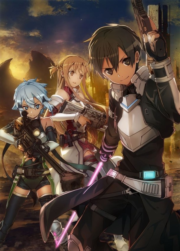 Sword Art Online: Fatal Bullet | abec Key Visual