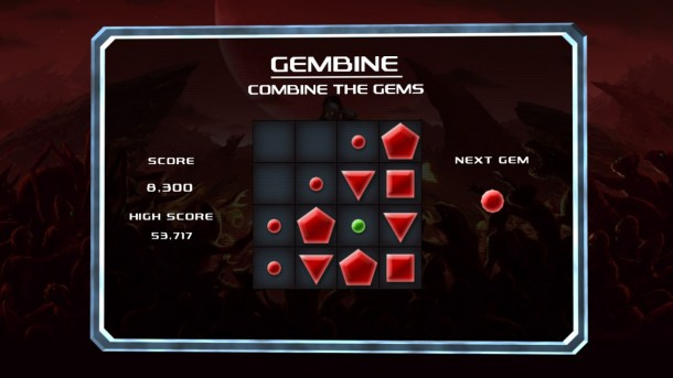 Crimsonland | The Gembine minigame