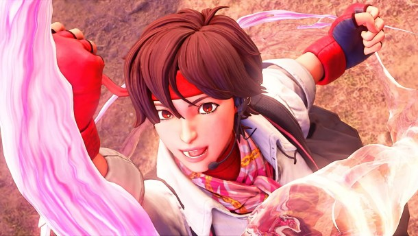 Street Fighter V | Sakura Kasugano