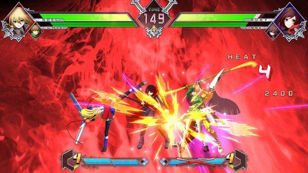 BlazBlue Cross Tag Battle Crash Assault
