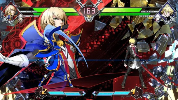 BlazBlue Cross Tag Battle Jin and Hyde