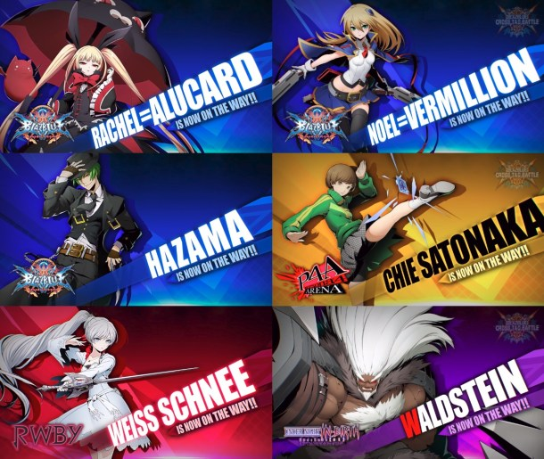 BlazBlue Cross Tag Battle October Reveals