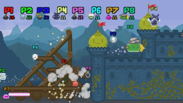 Super Slime Arena | Castle Siege