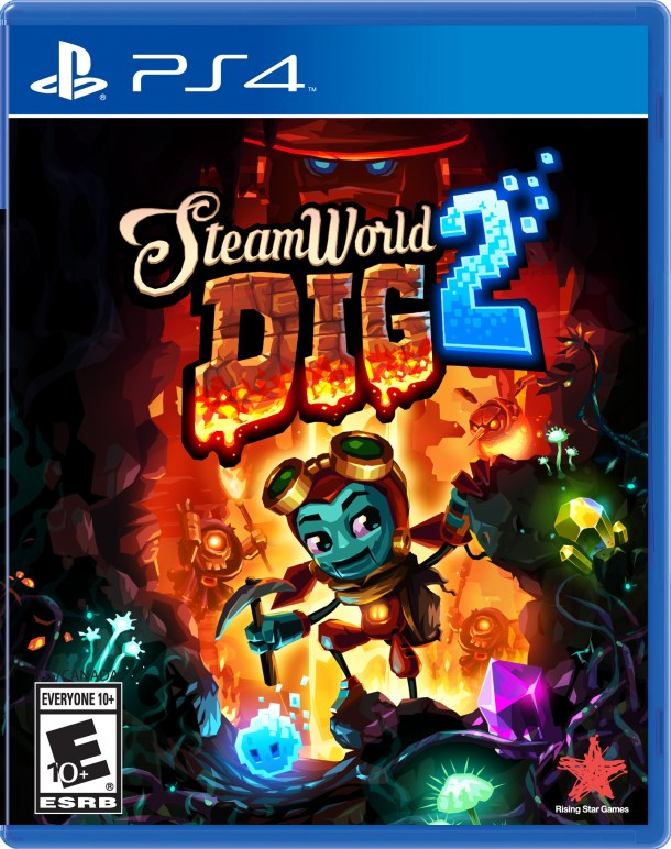 SteamWorld Dig 2 | PS4 Box