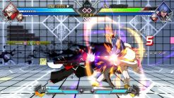 BlazBlue Cross Tag Battle Tactics in-game