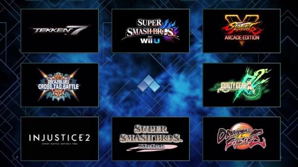EVO 2018 Main lineup
