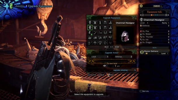 Monster Hunter World | Armor Crafting