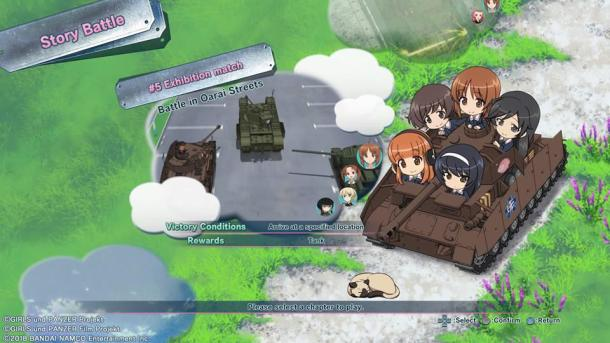 Girls Und Panzer: Dream Tank Match | Story Mode