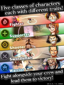 One Piece Bounty Rush | Classes