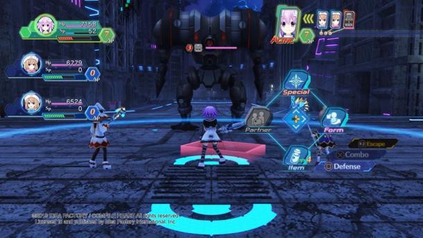 Megadimension Neptunia VIIR   Combat