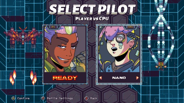 Rival Megagun | Pilots