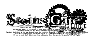 STEINS;GATE ELITE | Logo