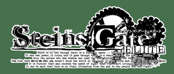 STEINS;GATE ELITE | Logo