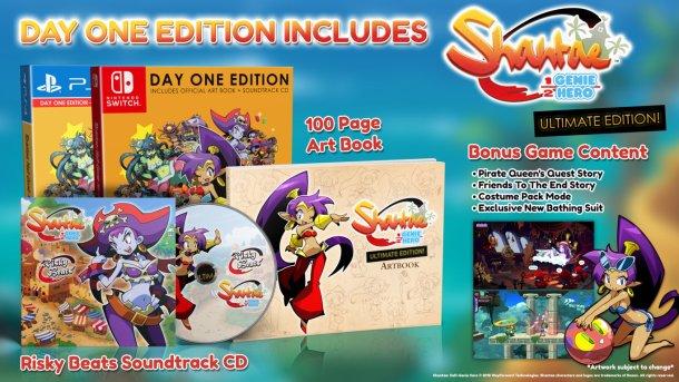 Shantae: Half-Genie Hero Ultimate Day One Edition