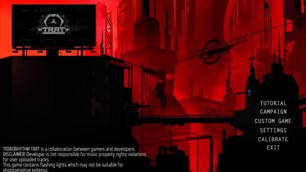Terrorhythm Title Screen