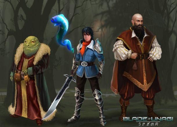 Blade of Unagi   Heroes