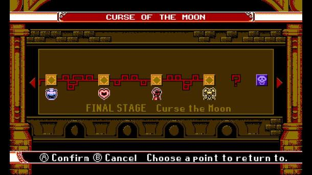 Bloodstained Curse of the Moon | Curse
