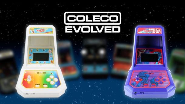 Coleco Evolved Mini Arcades