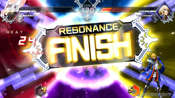 BlazBlue Cross Tag Battle | Resonance Finish