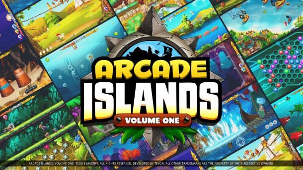 Arcade Islands: Volume 1 Logo