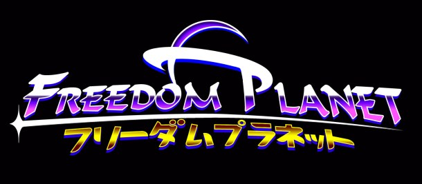 Freedom Planet | Logo Black