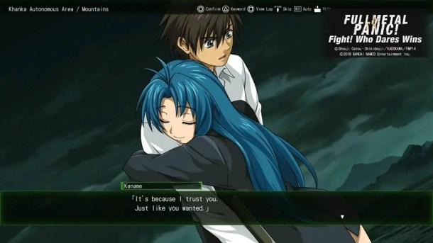 Full Metal Panic Fight Who Dares Wins | Hug