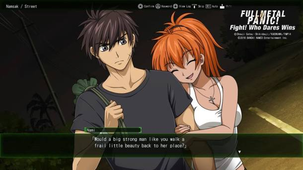 Full Metal Panic Fight Who Dares Wins | Nami