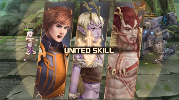 Azure Saga: Pathfinder | United Skill Used