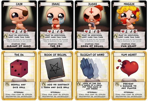 The Binding of Isaac: Four Souls | characters