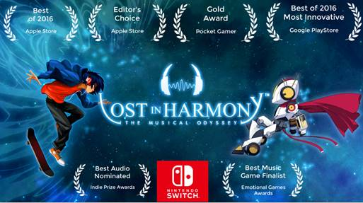 Nintendo Download | Lost in Harmony