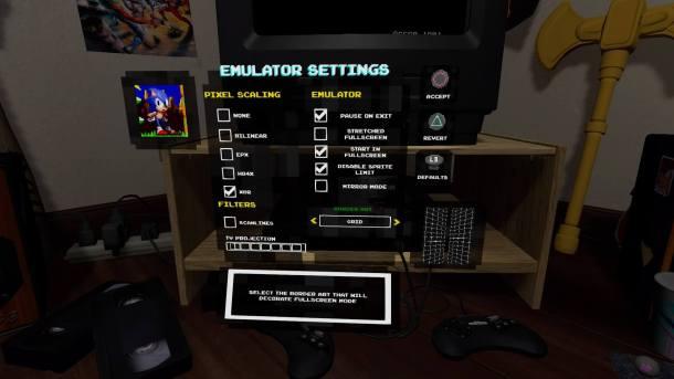 SEGA Genesis Classics | Emulator Options