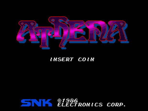 SNK 40th Anniversary | Athena (Arcade) 01