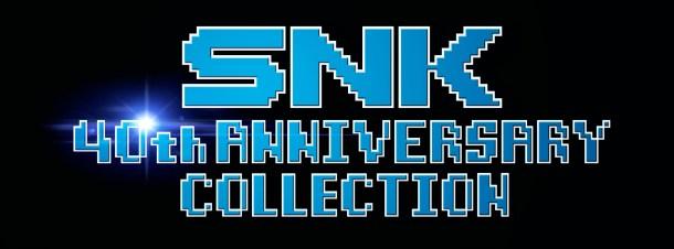 SNK 40th Anniversary | Logo